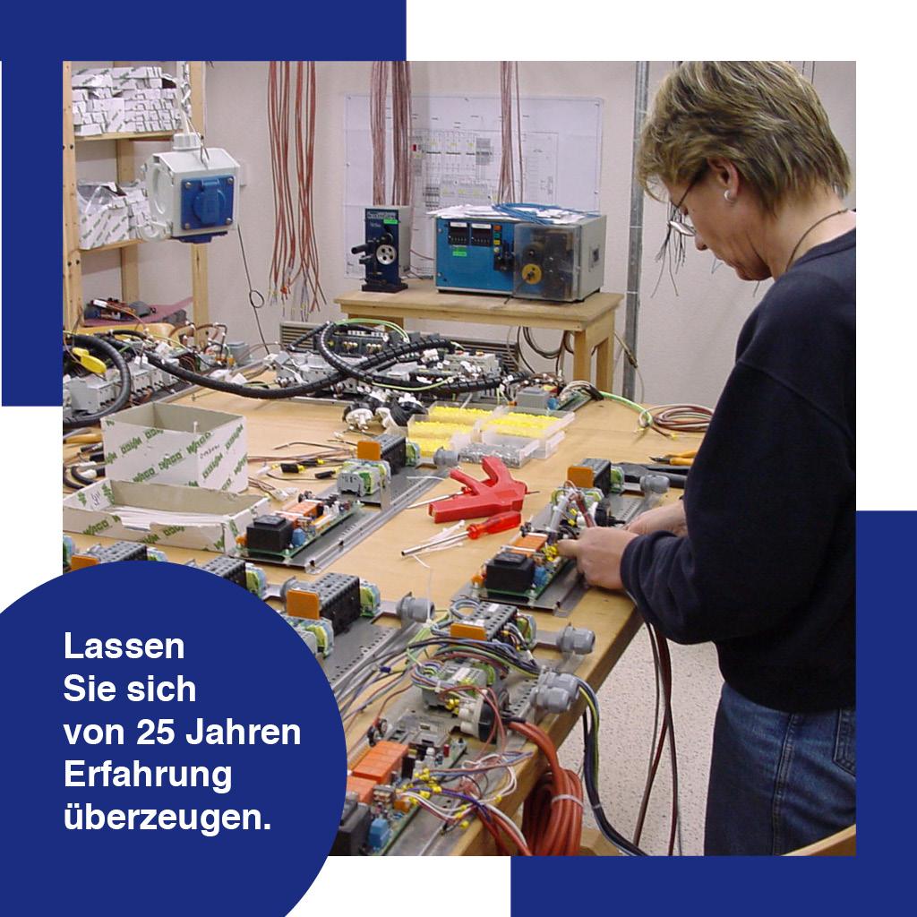 Kabelkonfektion, Schaltgerätebau, Schaltschrank